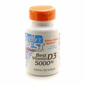 Doctor`s Best Vitamin D3 5000 МЕ