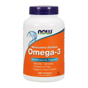 NOW Omega-3 200 капсул