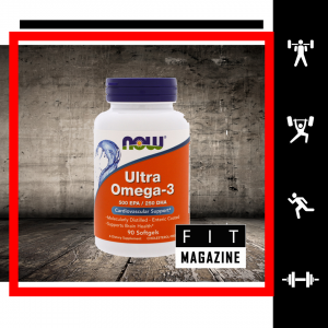 NOW Ultra Omega-3 500 EPA/250 DHA (90 капсул)