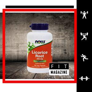 Now Foods Корень Солодки 450 мг (100 капсул)