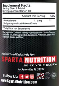 СоставSparta Nutrition The One