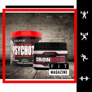 Предтренировочный стек (Iron Kick + Psychotic)