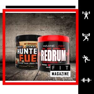 Предтренировочный стек (Redrum + Hunters Fuel)