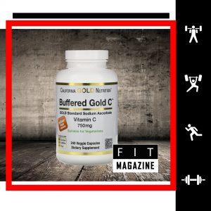 California Gold Nutrition Буферизованный Витамин С