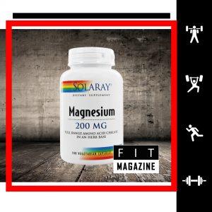Solaray Магний 200 мг