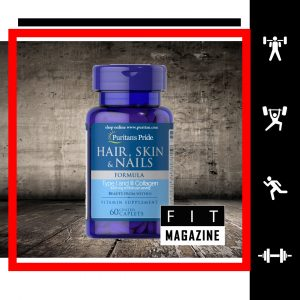 Puritans Pride Hair, Skin & Nails Formula Type 1 and 3 Collagen