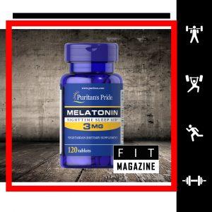 Puritans Pride Melatonin 3 mg