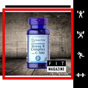 Puritans Pride Stress Vitamin B-Complex + Vitamin C-500 Timed Release
