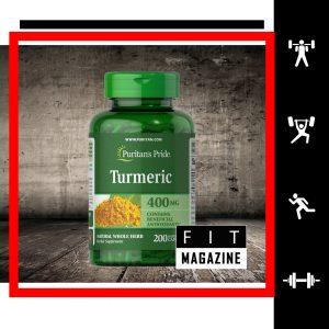 Puritans Pride Turmeric 400 mg