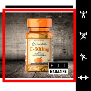 Puritans Pride Vitamin C-500 mg + Bioflavonoids and Rose Hips