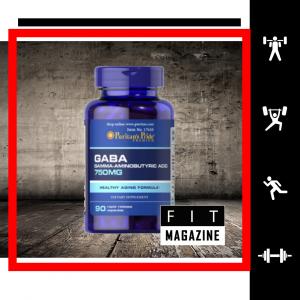 Puritans Pride GABA (Gamma Aminobutyric Acid) 750 mg